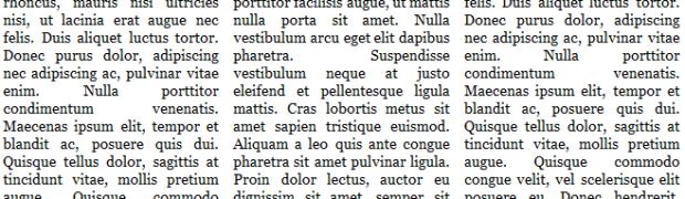 Gazeta na ekranie - dzielimy tekst na kolumny w CSS3