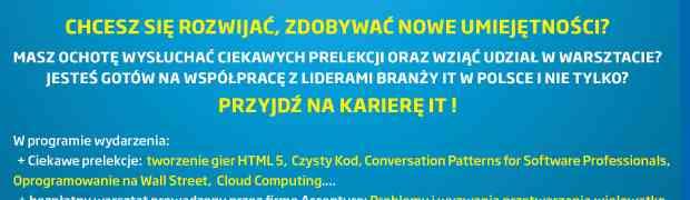 Serdecznie zapraszamy na Networking IT!