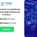 Code Europe: Największa konferencja programistyczna w Polsce już wkrótce w Warszawie i Wrocławiu