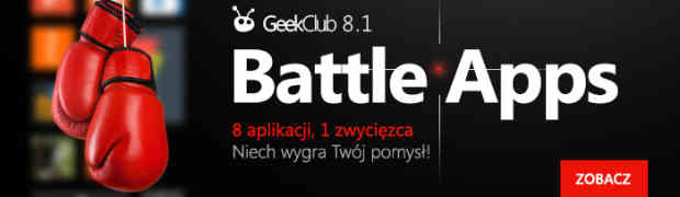 Weź udział w GeekClub 8.1 i wygraj tablet PC!