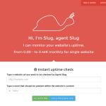 Agent Slug – monitoruj swoją stronę przez całą dobę