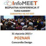 InfoMEET POZNAŃ – Bezpłatna konferencja IT i targi kariery