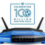 Linksys łączy świat już 100 milionami routerów!